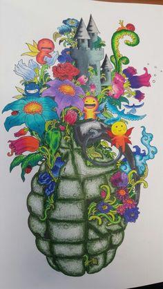 95 Best Color Book Doodle Invasion Images On Pinterest