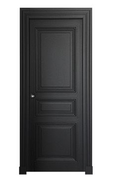 Bedroom door design black interiors Ideas for 2019 Bedroom Door Design, Door Design Interior, Bedroom Doors, Wooden Door Design, Front Door Design, Wooden Doors, White Interior Doors, Interior Doors For Sale, Black Doors