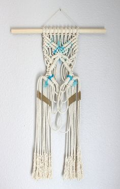 Sale Macrame Wall Hanging Indian Summer by HIMO ART One by HIMOART