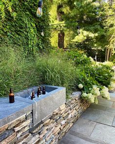 """MCLD LLC on Instagram: """"Sometimes you're lucky enough to have great clients who let your creativity run wild — it doesn't hurt to bribe them with cold beers…"""" House Proud, Farmhouse Landscaping, Backyard, Patio, Outdoor Entertaining, Dream Garden, Garden Inspiration, Garden Ideas, Modern"""