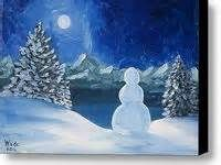 about Paintings I'd like to do on Pinterest | Easy Canvas Painting ...