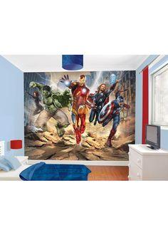 Marvel Avengers Wall Art for my boys bedroom