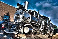 LOCOMOTIVES at the Colorado Railroad Museum