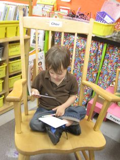 Literacy is learned...we are not born knowing how to read