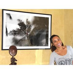 Cedella Marley lightning the house with her smile....