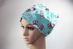 Hey, I found this really awesome Etsy listing at https://www.etsy.com/listing/218457565/women-surgical-cap-chemo-cap-scrub-hat