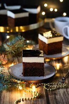 Affogato, Polish Recipes, Polish Food, Sweets Cake, Alice, Xmas, Christmas, Cake Cookies, Tea Party