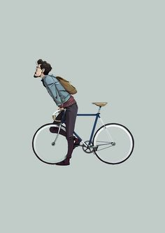 Bike riding illustration 52 Ideas for 2019 Hipster Vintage, Velo Vintage, Bicycle Illustration, Bike Poster, Urban Bike, Bicycle Art, Bike Style, Cycling Art, Arte Pop