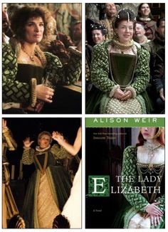 This beautiful Tudor Era gown has been used in three productions, as well as the centerpiece for a book cover.  #Tudor #ShakespeareInLove #HotFuzz