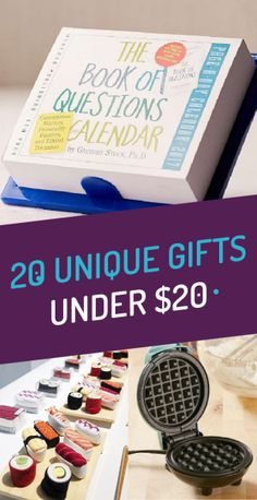 20 Unique Gifts Under