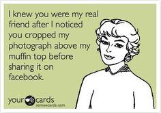 True friends crop Facebook pics
