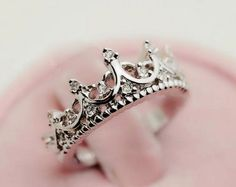 Classic royal crown ring wit... from Joowel on Wanelo