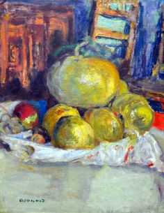 Pierre Bonnard - Still Life with Fruits, 1925 at Kunstmuseum Winterthur Switzerland (by mbell1975)
