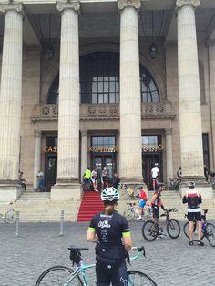 #Ironman70.3 #Testfahrt #Wiesbaden mit meinem #Bianchi 1400 Höhenmeter auf 75km - getrackt mit meiner #Garmin #Fenix3 im #Triabolos Trikot und mit #Multipower Gel Kirsche und Isodrink sowie ein #GoCo Kokoswasser