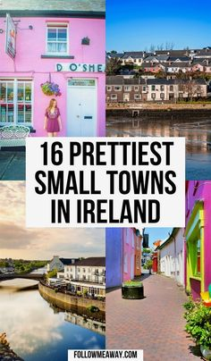 Map Of The Prettiest Towns In Ireland | tips for traveling to ireland | best photo spots in ireland | where to stay in ireland | best things to do in ireland | bucket list locations in ireland | cutest places in ireland #ireland #traveltips Ireland Map, Ireland Travel Guide, Traveling To Ireland, Oh The Places You'll Go, Places To Travel, Travel Destinations, Europe Travel Tips, Oregon, Small Towns