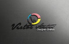 Logo Victor Artes - 3D Realista