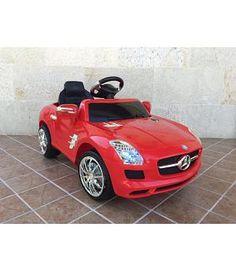 Oferta Coche infantil Mercedes SLS AMG 6v con mando