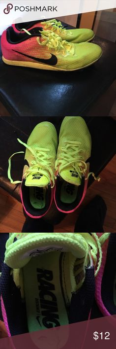 Nike children's Racing shoes In great condition used for one race, Nike long distance running sneakers children size 4.5 Nike Shoes Sneakers