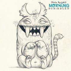 Sabre Toof Cat. #morningscribbles
