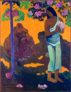 Landscape canvas painting scenery picture impressionism masterpiece poster art Gauguin Paul The Month of Mary Te avae no Maria Paul Gauguin, Henri Matisse, Gauguin Tahiti, List Of Paintings, Canvas Painting Landscape, Hermitage Museum, Impressionist Artists, Museum Exhibition, Picasso