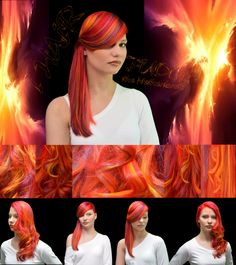 """FUDGE Mixologie Master 2016........ i HAiR the Netherlands Present.....  <<< The i HAiR Phoenix Look >>>  Our team is, fiery, creative and we use our own fantasy.  Our fashion and personal style gets revide through  our metamorphosis, we created on our model.  """"Burn to Emerge, Rise From the Ashes""""  Watch the complete film (the making of) here: http://www.ihair.nl/phoenix.html follow use  https://www.facebook.com/ihair.nl"""