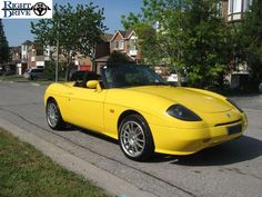 Fiat Barchetta Roadster 1995 Retro Style Car Babygrow
