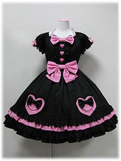 Angelic Pretty » One Piece » Color Pearl Heart OP