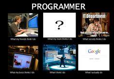The Programmer job ?