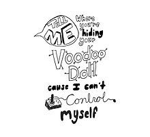 5 Seconds Of Summer-Voodoo Doll Lyric Art by liveoffcourage one of my favorite songs by 5sos