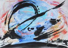 Abstract watercolors.  http://sisetserinya.blogspot.com.es/