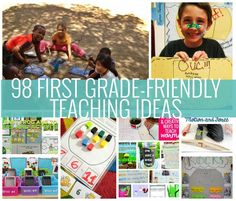 If you teach first grade, then I've got your back. Here are 98 first grade-friendly ideas to help you teach creatively and make your lesson planning easier.