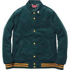 Supreme Corduroy Club Jacket - $188