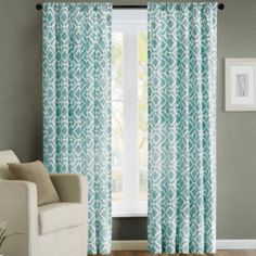 Madison Park Ella Rod-Pocket Curtain Panels