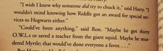 Foreshadowing at its finest! Jo Rowling is great!