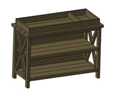 Free Baby Changing Table Woodworking Plans | Woodworking plans, Woodworking and Babies