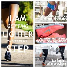Have everything but the half marathon it I'm gonna get there!!