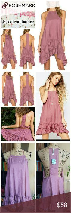 Spotted while shopping on Poshmark: Free People Ruffle Slip Dress! #poshmark #fashion #shopping #style #Free People #Dresses & Skirts