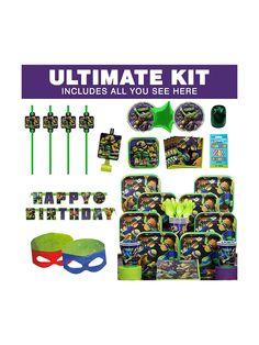 Ninja Turtles Ultimate Kit - Decoration Kits Party Supplies