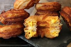 Get the Grilled Cheese Crescent Doughnuts recipe from Oh, Bite It!  OMG--Can you even believe these? The Best Recipes That Came From Food Bloggers In 2014