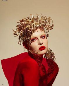 #jewelry #yanamarkova #Украшения #янамаркова Headdress, Headpiece, Markova, Sport Chic, Fashion Story, Fashion Models, Stylists, Masks, Face