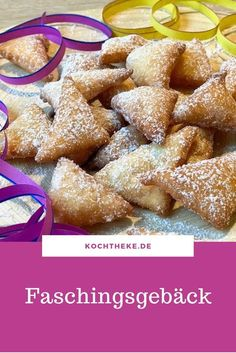 Faschingsgebäck - Pretzel Dessert İdeas and Tips Snacks Für Die Party, Pretzel Desserts, Pretzel Bites, No Bake Cake, Cake Recipes, Cereal, Muffins, Food And Drink, Cookies