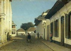 benedenstad, Batavia, ca. 1870