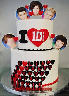 1D one direction Cake