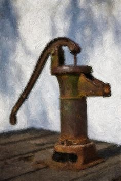 Old Water Well Pump