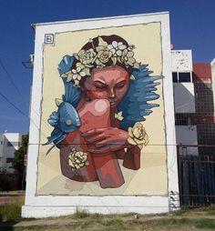 Mural by Braulio Armenta in Sinaloa, México.