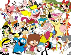 90s cartoon ne... 90s Cartoon Network Characters ...