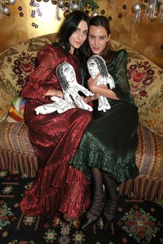 Introducing The Vampire's Wife: the Christmas party dresses Alexa Chung, Florence Welch And Kylie Minogue swear by Florence Welch, Susie Cave, Nick Cave, Kylie Minogue, The Vampires Wife, Alexa Chung Style, Vogue, Flattering Dresses, Fashion Brand