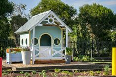 Be a herb farmer in our beautiful herb farmer play house, touch, taste and smell the surrounding herbs at the Herb Farm Play Yard Herb Farm, Play Yard, Kids Playing, Farmer, Herbs, Outdoors, Cabin, Touch, House Styles
