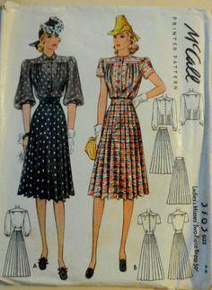 McCall 3763: Misses' dress