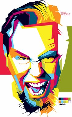 James-Hetfield wpap 2 by adityasp.deviantart.com on @DeviantArt